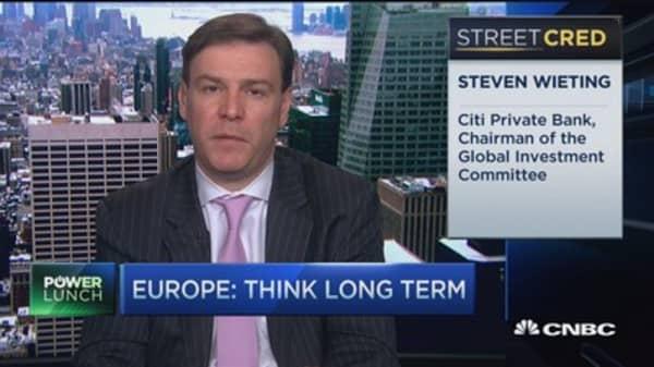 Citi's long-term Europe play
