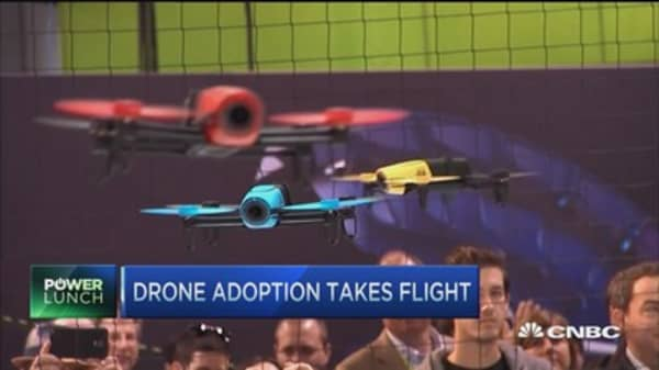 Integrating drones into US airspace