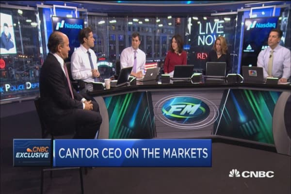 Cantor CEO: I think Fed will raise