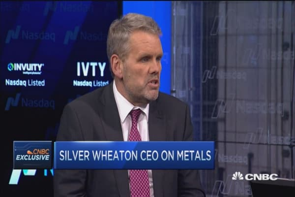 Gold and silver mines drowning: Silver Wheaton CEO