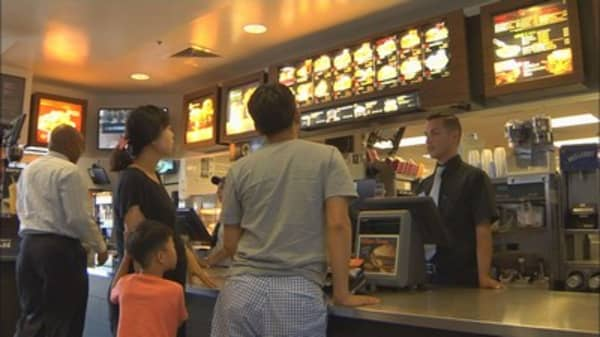 McDonald's new menu for the New Year