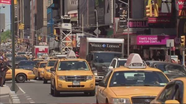 Yellow cabs sue New York City over Uber