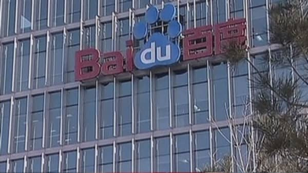 Baidu launches online bank to rival Alibaba, Tencent