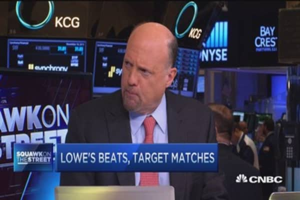 Cramer says Target was not the 'blowout' he expected