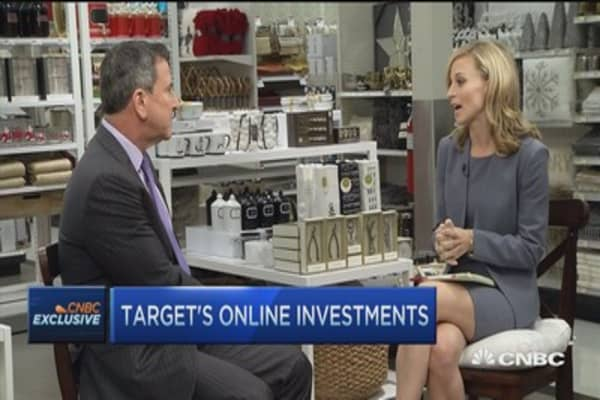 Target CEO: Got our game in place