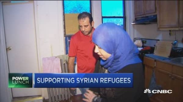 Being a Syrian refugee in the US