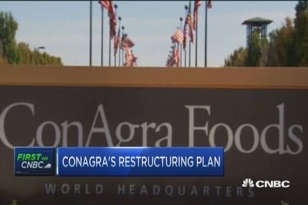 ConAgra splits in two