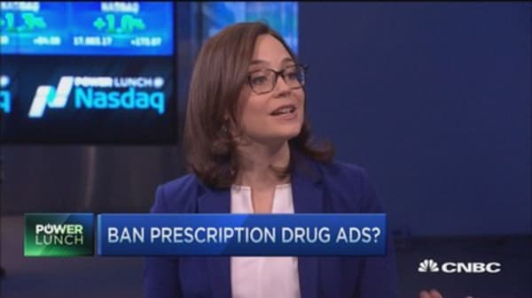 Should drug ads be banned?