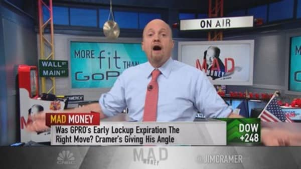 Cramer: Don't dismiss Fitbit as the next GoPro