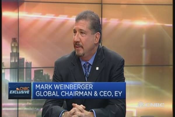 EY CEO weighs in on US economy