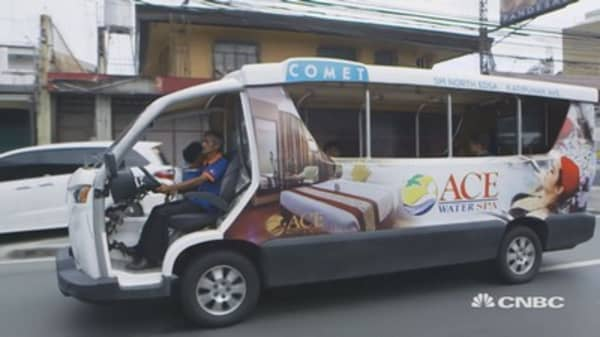 The end of the jeepney? Manila goes green