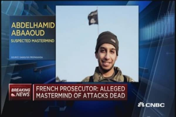 Abdelhamid Abaaoud reported dead: French prosecutor