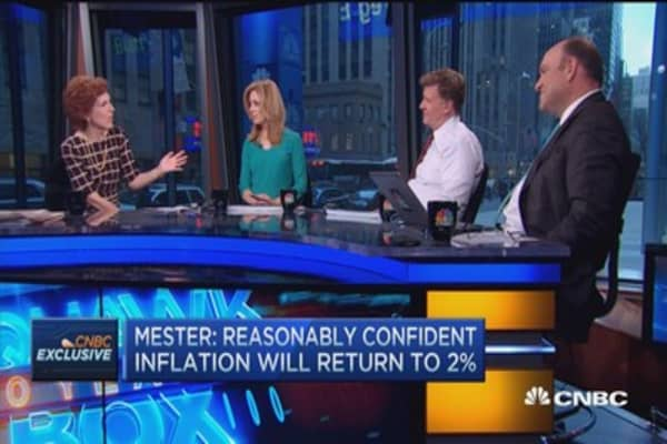 Reasons to believe liftoff will be gradual: Fed's Mester