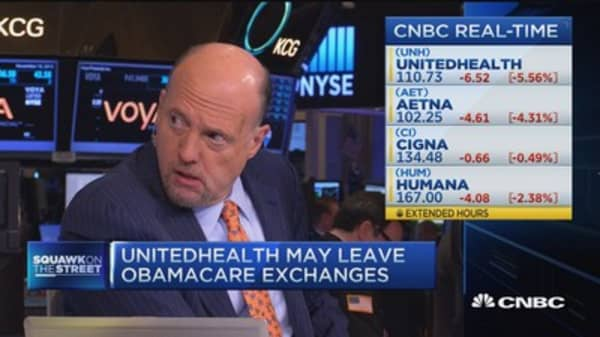 UnitedHealth may leave Obamacare exchanges