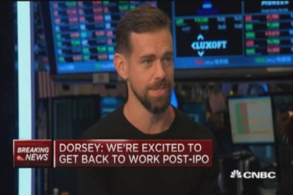 Dorsey: Square strong in everyday transactions
