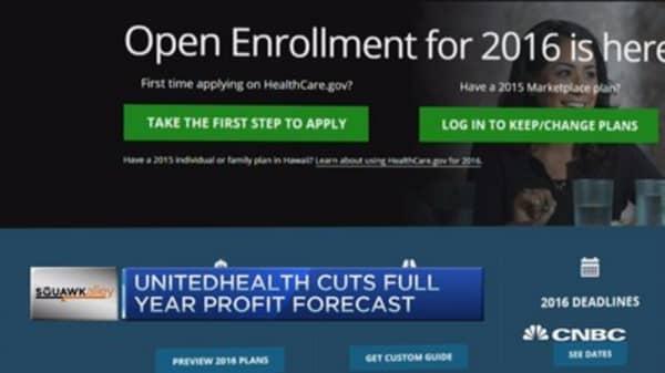 UnitedHealth warns on Obamacare
