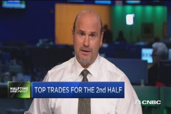 Top trades for the 2nd half: Stay diversified