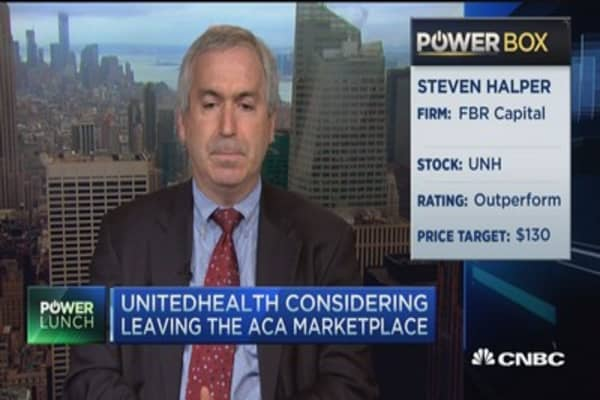 Why UnitedHealth is considering ditching Obamacare