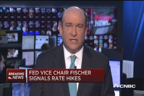 Fed's Fischer: We have signaled a hike best we can
