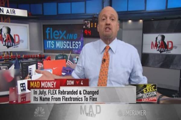 Cramer: I believe in FLEX!