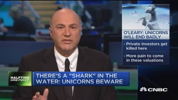 Unicorns beware, more pain to come: O'Leary