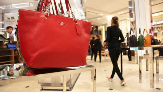 Handbags On Display In Macy S New York City