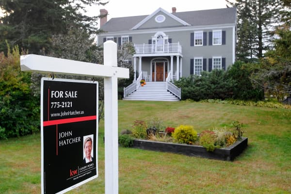 House for sale in Portland, Maine.
