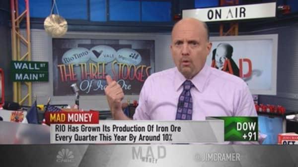 Cramer: 3 biggest morons of iron ore