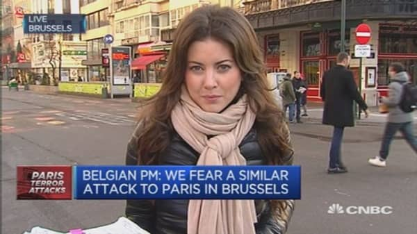 Brussels fears similar attacks to Paris