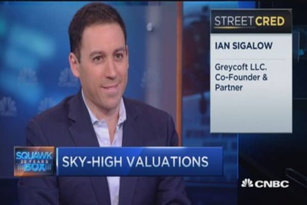 Unicorns reaching sky-high valuations