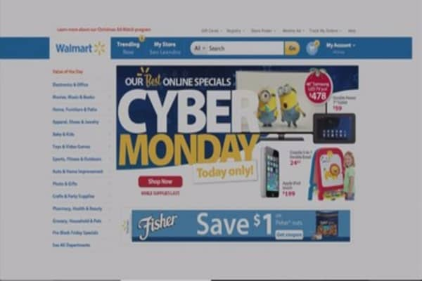 Walmart moves Cyber Monday