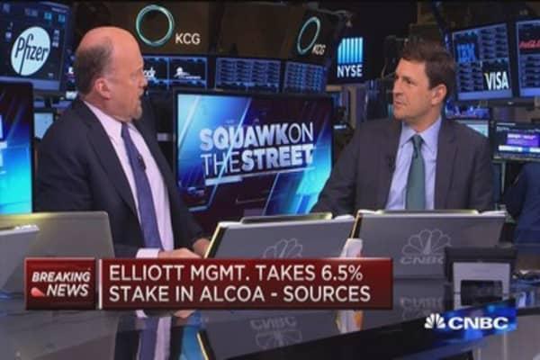 Elliott Mgnt. takes 6.5% stake in Alcoa: Source