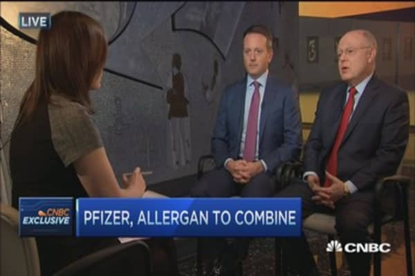 This deal is 'very positive' for the US: Pfizer CEO