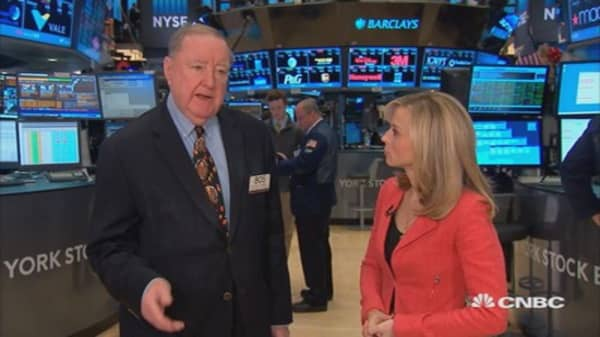 Cashin: Stocks following oil again