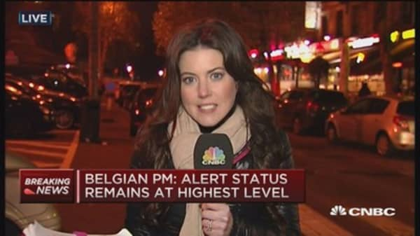 Brussels to remain on highest terror alert for week: Belgian PM