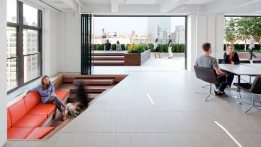 office adas features lime. Horizon Media Office. Media\\u0027s Nyc Headquarters. Office Cnbc.com Adas Features Lime