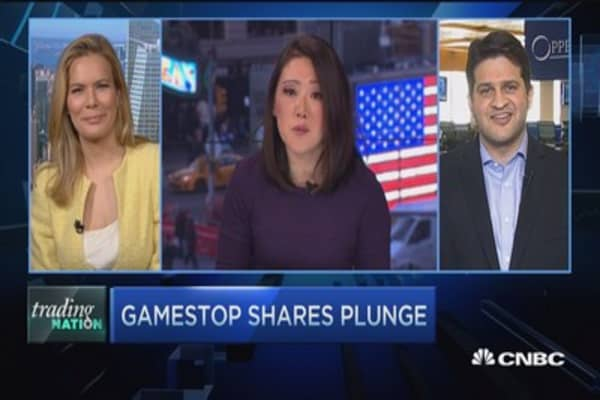 Trading Nation: Gamestop misses, gets whacked