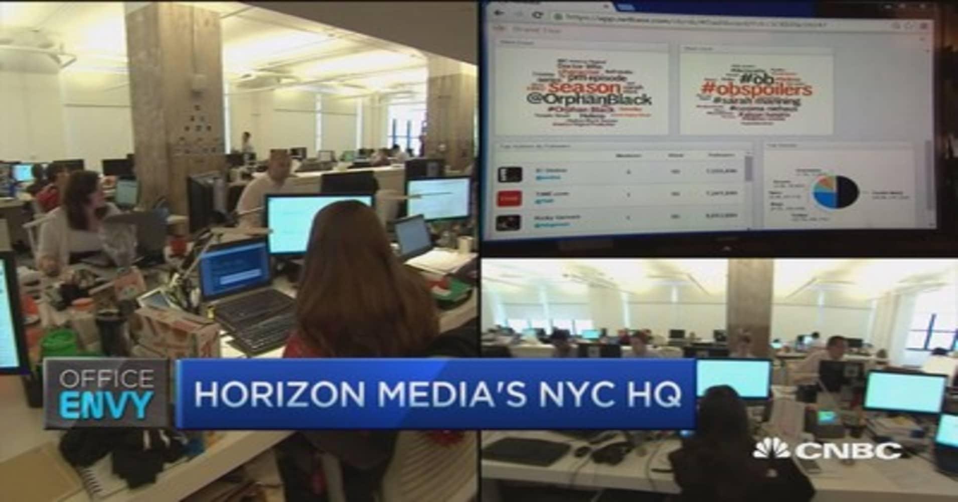 horizon media office. Horizon Media Office O