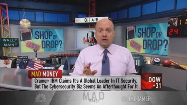 IBM, if you can't beat 'em, buy 'em!: Cramer