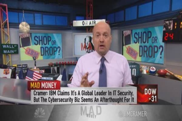 IBM, if you can't beat 'em, buy 'em!: Cramer