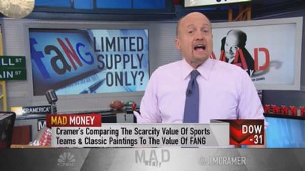 The strength of FANG explained: Cramer