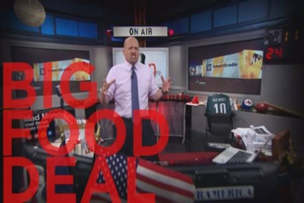 Cramer: The newest king of the food aisle