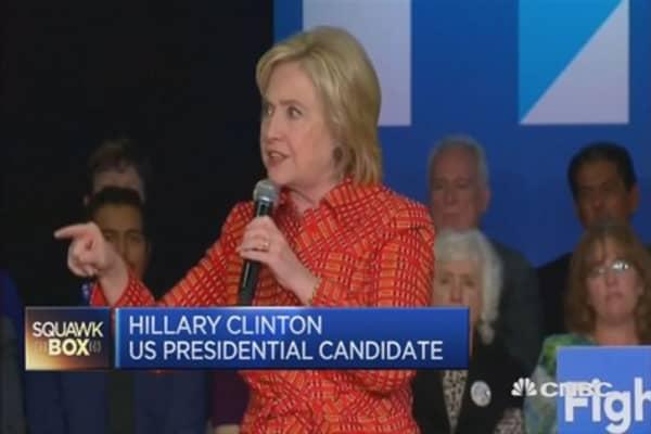 Hillary Clinton slams Pfizer-Allergan merger
