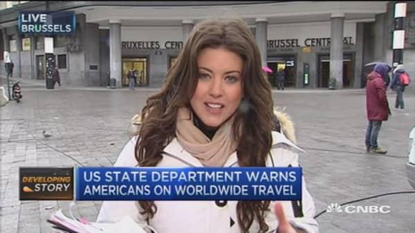 Brussels remains on highest alert