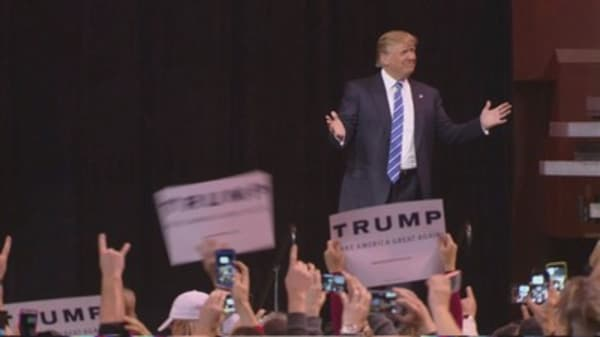 Trump on 2016 ballot will boost voter turnout