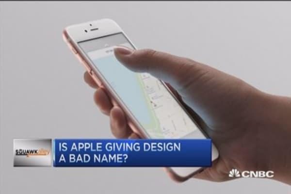 Has Apple fallen behind in the design game?