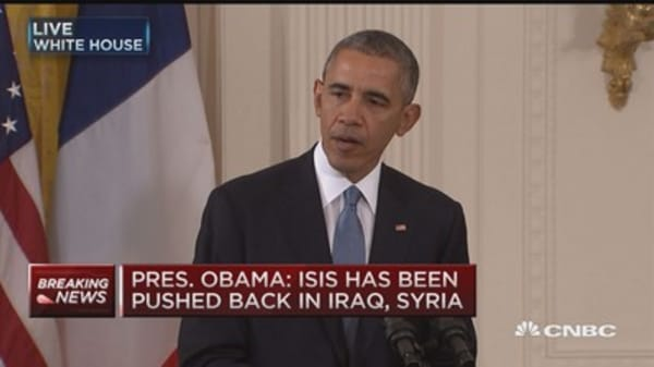 Pres. Obama: US & France must 'do more together' against ISIS