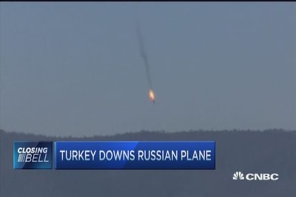 Russia denies warplane crossed Syrian border into Turkish skies