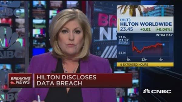 Hilton discloses data breach