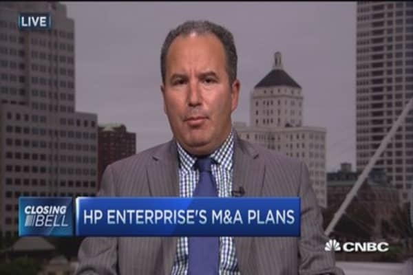 Hewlett-Packard Enterprise's opportunity